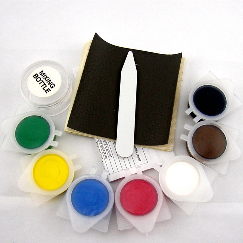 Colour leather