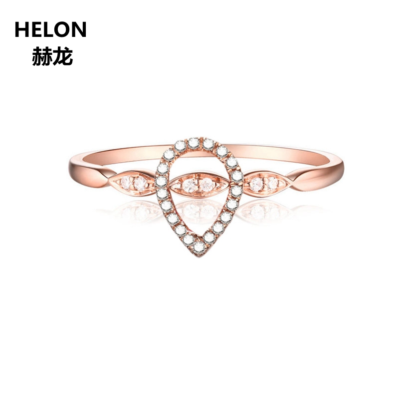 0.15ct SI/H Natural Diamonds Engagement Ring Solid 14k Rose Gold Women Wedding Ring Anniversary Party Birtday Jewelry Gift0.15ct SI/H Natural Diamonds Engagement Ring Solid 14k Rose Gold Women Wedding Ring Anniversary Party Birtday Jewelry Gift