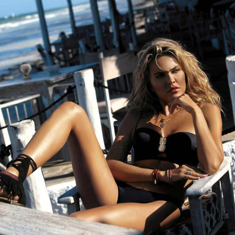HTB1llPJMmzqK1RjSZFjq6zlCFXaH Plus Size Sexy Bikini 2020 Push Up Bikini Set Pink Swimwear Women Micro Swimsuit Female Bandage Biquini Beach Party Two-Piece XL