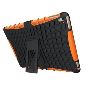 Image 4 - À prova de choque caso protetor armadura capa para i pad mini 1/2/3/ 4 ar 2 pro 9.7 novo um