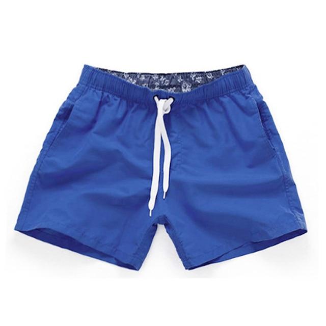 Summer Board shorts men casual solid Mid Beach shorts fashion printed Waist shorts man Straight Drawstring shorts S-XXL Hot sale 1