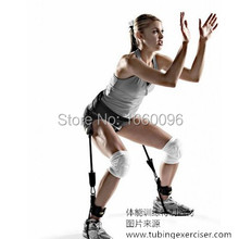 2015 New Product 1.5m Latex Leg Resistance Bands Elastuc Training Rope Factory Direct Sale