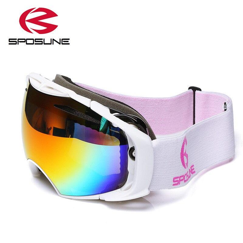 ShenyKan PC Antifog Skibrille Wanderbrille Universal Windproof Goggle Bergsteigerbrille Outdoor-Reitbrille