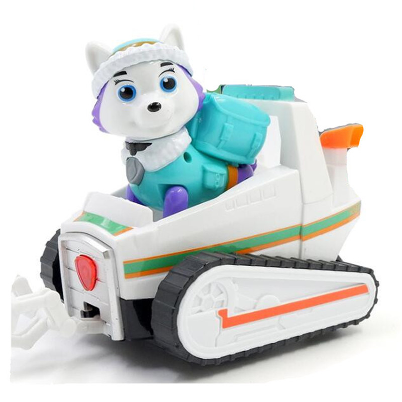 New Paw Patrol Dog Kids Toys Have Light And Music Action Figure Model Patrulla Canina Toys For Children Gifts