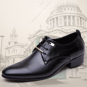 italian black formal shoes men