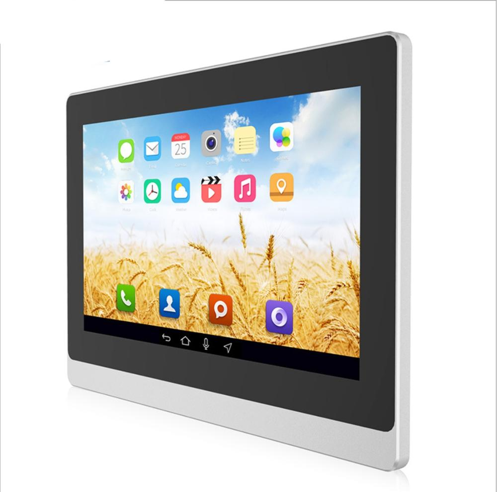 Front IP65 17.3 Inch Android 6.0 OS 8G ROM Built-in Wifi&BT Fanless All In One Panel Pc