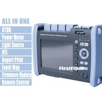 FF 990PRO S1 волоконно оптический рефлектометр 1310/1550nm 35/33dB рефлектометра встроенный VFL OPM МНК Сенсорный экран, с SC ST FC LC разъем