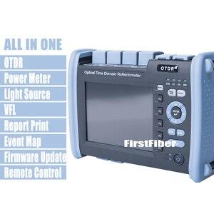 Image 1 - FF 990PRO S1 OTDR 1310/1550nm 35/33dB Reflectometer מובנה VFL OPM OLS מגע מסך, עם SC ST FC LC מחבר