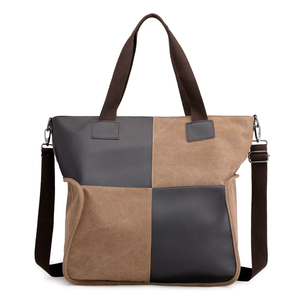 Image 3 - 2020 Vintage قماش المرأة حقيبة يد حقيبة يد عادية مبطن سعة كبيرة السيدات حقيبة يد طالب كلية حقيبة كتف عبر الجسم