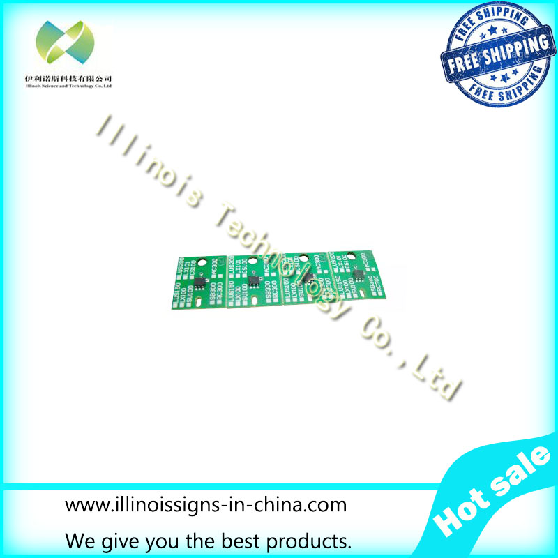 One-time Chip for Mimaki LUS150 Cartridge 4 Colors CMYK printer parts`