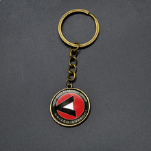 DC Comics Marvel Key Chains Movie Suicide Squad Pendant Keychain Women Men Student Anime Jewelry Cartoon Key Rings For Teenager