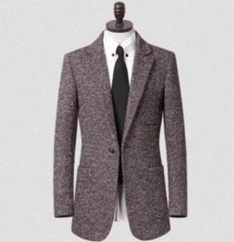 winter korean men's  woolen coat Leisure Suit Gifts brand Young single-breasted overcoat black jacket men sobretudo S – 9XL