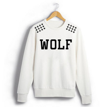 2018 Exo album même xoxo wolf88 étoiles imprimé épaule sweat pour hommes femmes  plus taille kpop o cou pull hoodies e0ea0e6f9719