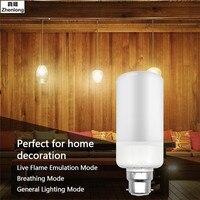 E27 E14 LED Fiamma Fuoco Effetto Strobo Luce E12 E26 B22 Lampadine Sfarfallio Emulazione Decorativi D'epoca Lampade di Illuminazione Della Fase