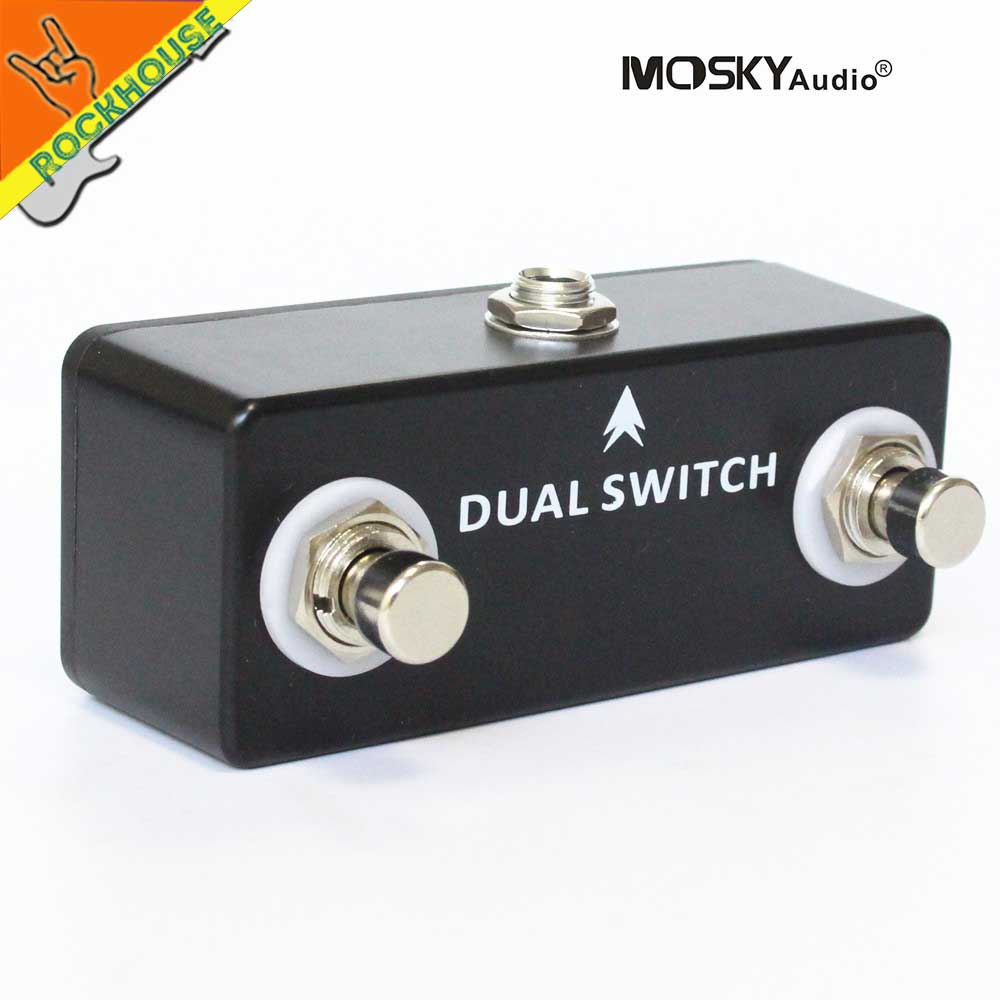buy guitar pedal tap switch dual momentary footswitch guitar amp channel switch. Black Bedroom Furniture Sets. Home Design Ideas