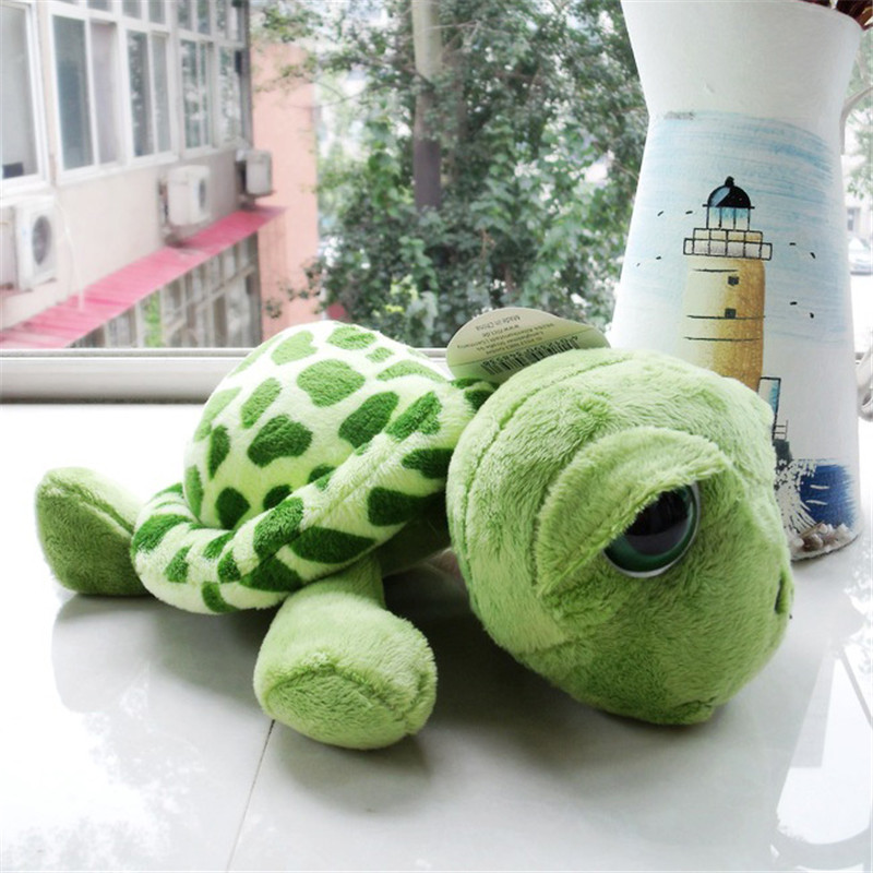 20-40cm Baby Big Eyes Turtle Plush Toys Cute Tortoise Doll Stitch Turtle Gift Toy For Childrens Birthday Gift