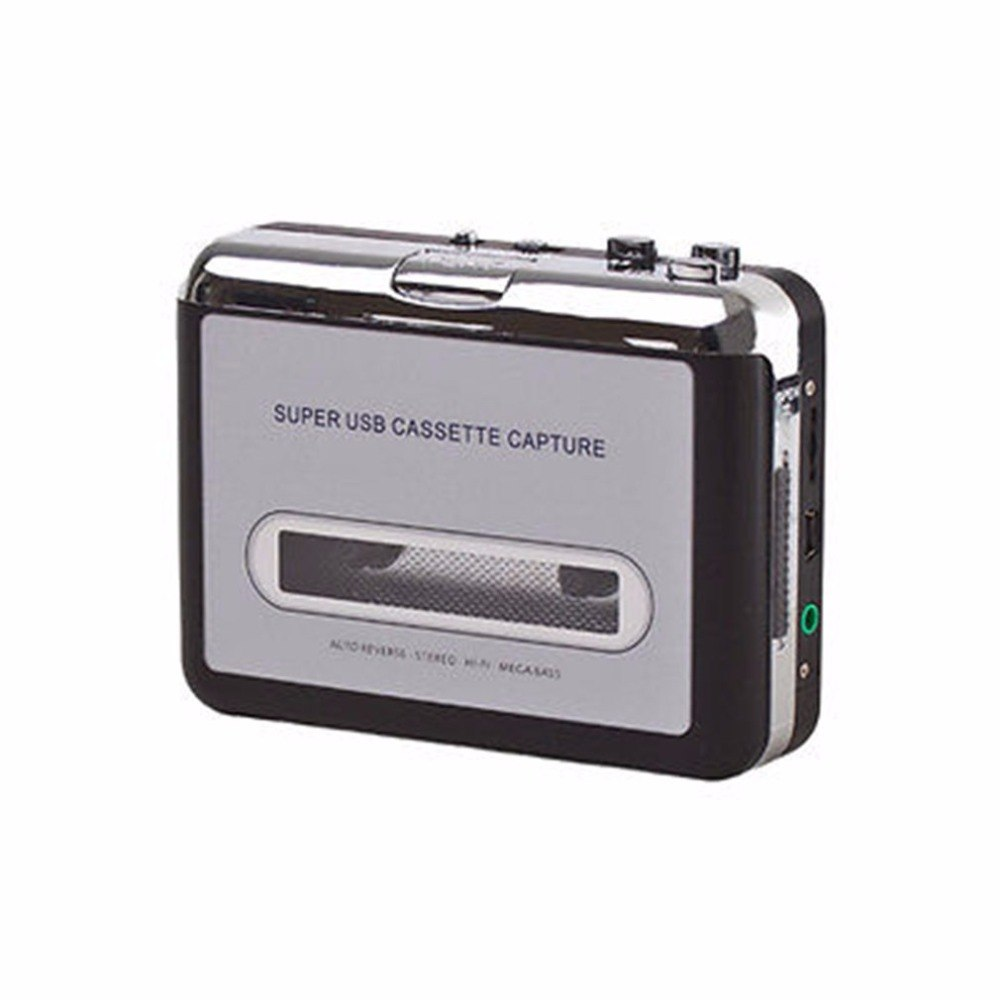 Cassette player USB Cassette to MP3 Converter Capture Audio Music Player Convert music For Microsoft For Windows