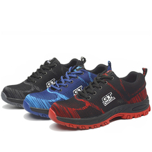AC13004 Competitive Price Hiking Shoes High Quality Fabric Lightweight Safety Boots Outdoor Mens Labor Insurance Puncture Proof цена в Москве и Питере