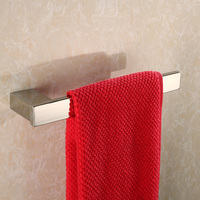 Contemporary Modern 304 Stainless Steel Polished Bathroom Hardware set Wall Mounted Bathroom Towel Towel Ring