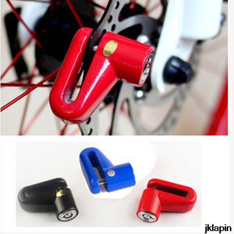 MTB Mountain Road Bike BMX Bicycle Disc Brake Lock Bicycle Safety Anti-theft Lock