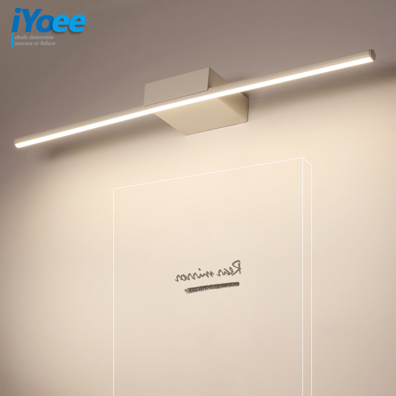 Modern Led Black White Wall Lamps Bedroom Vanity Wall Light Fixtures Living Room Wall Sconce Lights bathroom makeup light homeModern Led Black White Wall Lamps Bedroom Vanity Wall Light Fixtures Living Room Wall Sconce Lights bathroom makeup light home