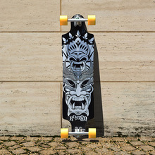 KOSTON pro longboard completes with 9ply canadian maple laminated,39inch long skateboard complete for downhill racing
