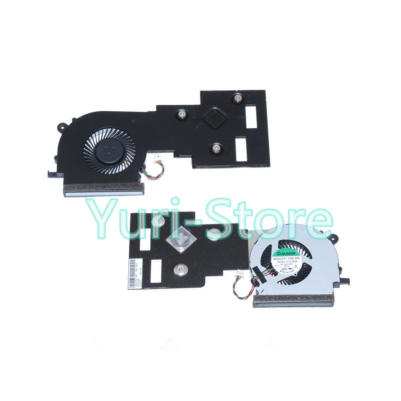 NOKOTION Heatsink with fan For Acer aspire ES1 521 Notebook MF60070V1-C380-S99 PC Cooling fan System 100%test for acer aspire 5710g 5920g 6530g 6920g notebook pc ati mobility radeon hd 3650 hd3650 ddr3 256mb mxm ii graphics video