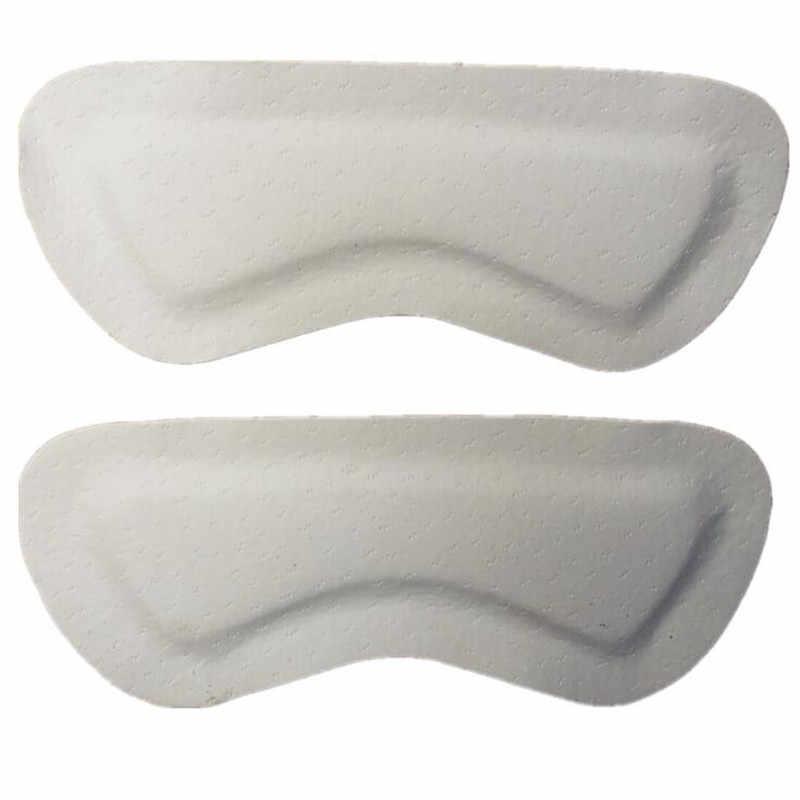 1 par de almohadillas de PU adhesivas invisibles almohadillas de talón trasero almohadillas de inserción para zapatos de tacón alto adhesivo para empuñadura forro plantillas de cuidado de pies