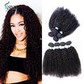 7a Peruvian Virgin Kinky Curly 4pcs Peruvian Virgin Hair Bundle Deals Afro kinky curly,Siyo Virgin Hair Peruvian Curly Hair