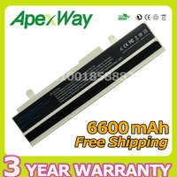 Apexway 6600mAh Laptop Battery A31 1015 A32 101 for ASUS Eee PC 1015B 1015P 1015T 1016 1016P 1015 VX65 VX6S 1215 1011 R051 R011