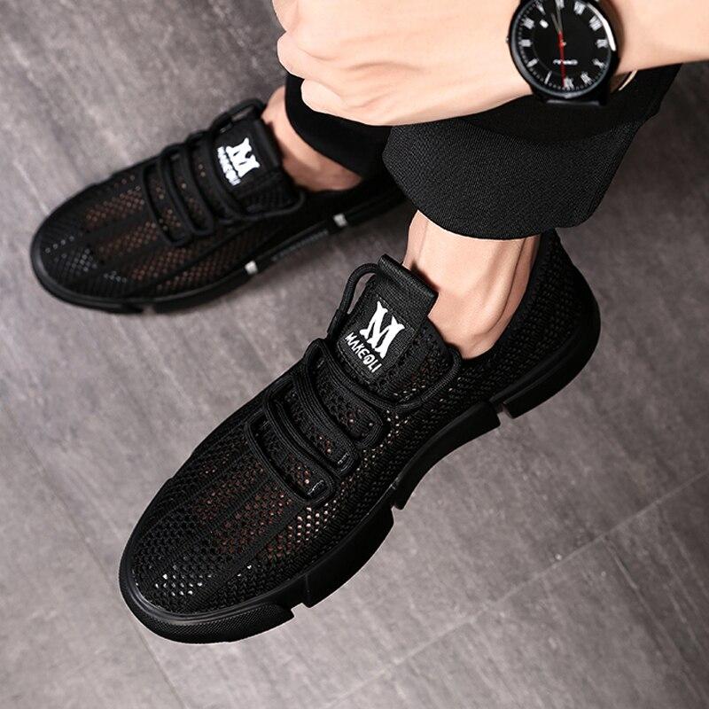 MYCORON Новая повседневная обувь Мужская дышащая Осенняя обувь кроссовки модные мужские ботинки дышащие мужские кроссовки Erkek Ayakkabi