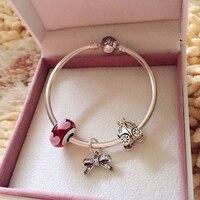 AAA Zircon Charm Star Bracelet for Women Fit European Bracelet & Bangles Jewelry DIY Making Accessories & Pumpkin beads & pearl