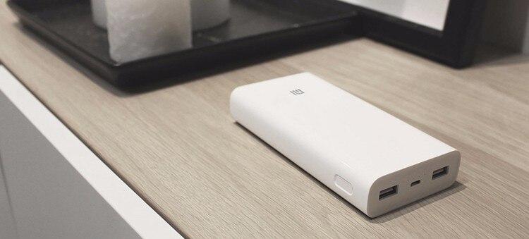 Original Xiaomi Power Bank 20000mAh 2 Portable Charger Dual USB Mi External Battery Bank 20000 for Mobile Phones and Tablets стоимость