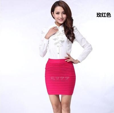 135g high quality! fashion high waist short skirt lady skirts/work ...
