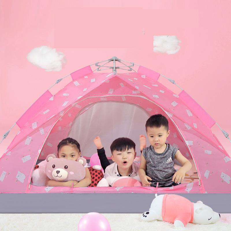 Tenda Per I Bambini Dei Capretti Dei Bambini All'aperto Giocare Tenda Ragazze Dei Ragazzi Del Bambino Coperta Giocattoli All'aria Aperta Campeggio Casa Sale gioco - 2
