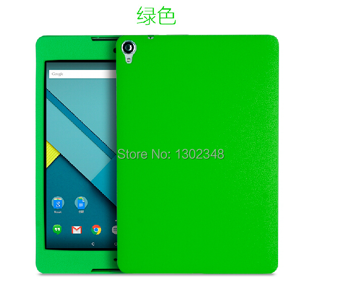 Luxury Ultra Slim Soft Silicone Rubber Protective Case Cover For Google Nexus 9 8.9 inch Tablet Screen Protector Sleeve Case universal silicone case for screen 7 9 9 tablet pc all round protective cover kickstand flexible rubber silicon shell coque