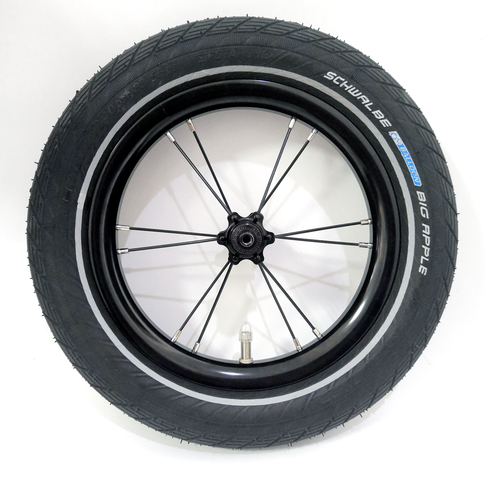 bicicleta com tubo interno tipo de pneu colorido 12