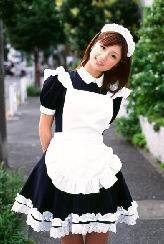 Japanese Girl Lolita maid cosplay anime clothes black and white convention costumes Free shipping