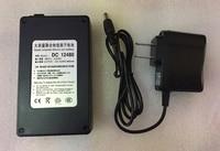 MasterFire 3set/lot Black 12V 4800mAh DC 12480 Rechargeable Portable Li ion Battery Batteries Pack for CCTV Camera Transmitter