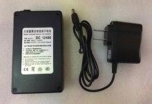 цена на MasterFire 3set/lot Black 12V 4800mAh DC 12480 Rechargeable Portable Li-ion Battery Batteries Pack for CCTV Camera Transmitter