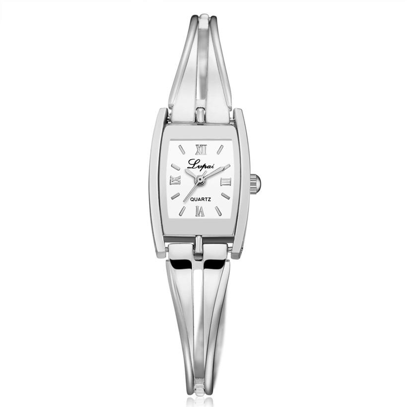 LVPAI Watches Women Stainless Steel Luxury Crystal Diamond