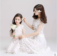 Mother Daughter Dresses Christmas Wedding Princess Winter Birthday Family Look Dress New Year Family Look Dress New Year