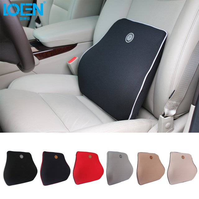 1PCS Car Seat Back Support Memory Cotton Filler Waist Rext Lumbar ...