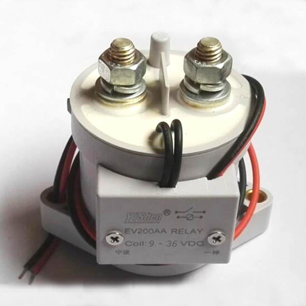 все цены на EV200A 1000A High Voltage Relay 9V-36V General Modification of Large Current Vacuum Relay Maximum pressure 320VDC онлайн