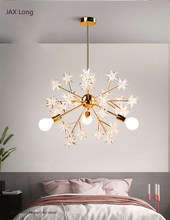 Nordic Loft Glass Led Lamp Modern Design Chandelier Ceiling Living Room Bedroom Dining Room Light Fixtures Decor Home Lighting