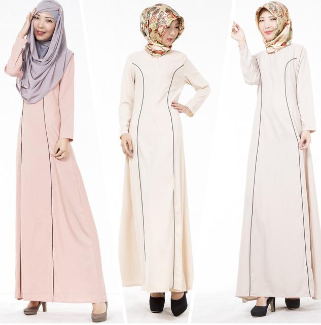 Исламская Одежда Для Женщин Бросился Djellaba 2016 Новых Мусульманских Этнических платье Ближний Восток Дубай Абая Арабские Длинные Юбки Для Женщин 704 #