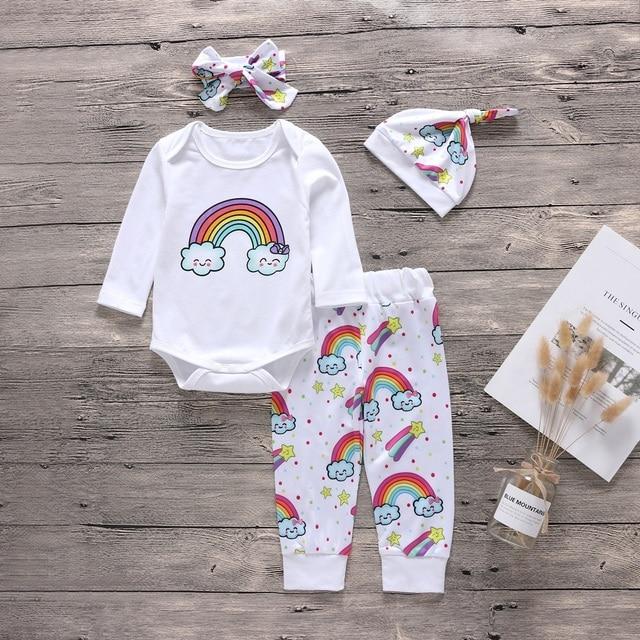 041e1e6d0 Autumn Winter Children Clothes Set Newborn Baby Girl Boy Clothes ...