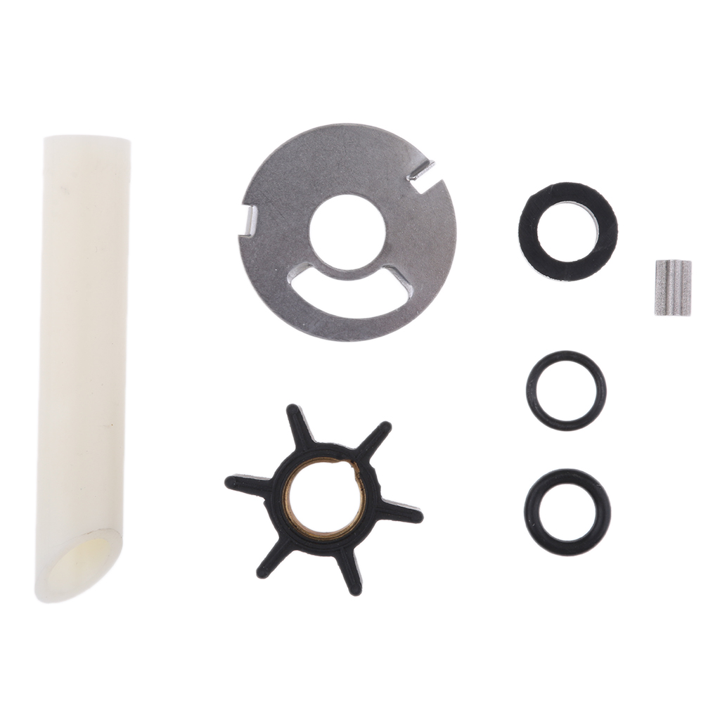 1 Set Water Pump Impeller Complete Replacement Water Pump Repair Kit For 4/4.5/7.5/9.8 Hp Repalce 47-89981T1 & 89981Q1