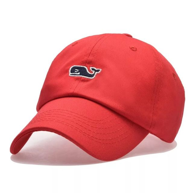 Whale Embroidery Cotton Baseball Cap 3