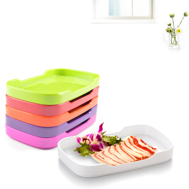 dishes u0026 plates melamine tableware color melamine plates grill tray korean style rectangular grill plate - Melamine Dishes